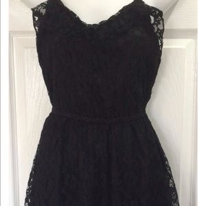 NWOT Black Lace Dress